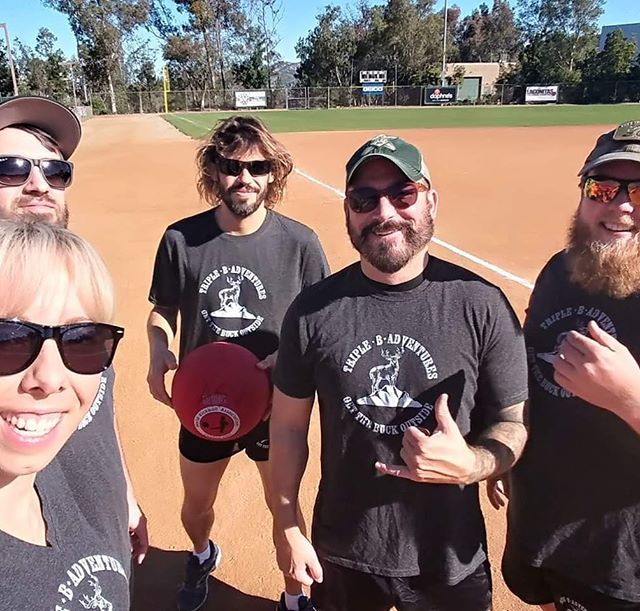 #MotivatorMonday goes out to our all star team at this years @allstarvets #Kickball tournament. We couldn't of done it without you! Who do you have on your team? Tag a friend below that should join in on our next adventure! #Veterans #Outdoors #PowaySportsplex #Marines #USMC #Army #Navy #Airforce #CoastGuard #NationalGuard #ActiveDuty #GetTheBuckOutside #NonProfit