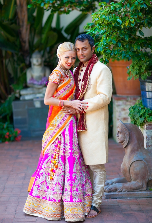 Indian Fusion Wedding Santa Barbara - Four Seasons Resort, The Biltmore