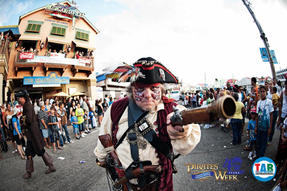 Pirates Week Festival - 02 - 18 November 2018