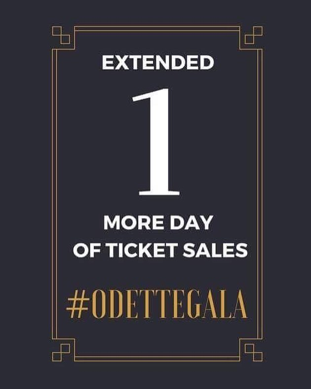 WE HAVE EXTENDED TICKET SALES  This is the last chance for all of you Last Minute Larry's to purchase tickets for Odette Gala. Still $60, still going to be in Odette Lobby from 11:30am - 4:00pm and still going to be accepting cash, debit and credit.  THIS WILL BE YOUR ABSOLUTE LAST CHANCE TO GET A SEAT AT THE MOST PRESTIGIOUS EVENT OF THE SCHOOL YEAR. OUR COMMITTEE HAS BEEN WORKING HARD TO ENSURE A FABULOUS AND FUN EVENING FOR YOU ALL. DON'T MISS OUT!
