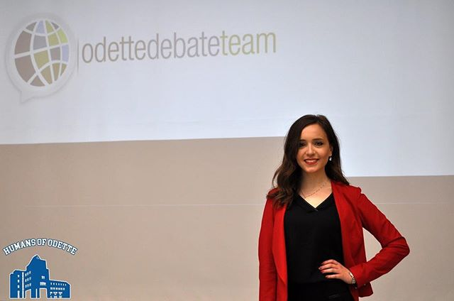 """In first year, I listened to each Club's presentation, I decided to join a couple but my favourite is Debate Team. The best part is travelling around the US for debate tournaments; the first time I ever went on a plane was to go to Boston. Since I've been on debate, I have had the privilege of representing the Odette School of Business by going to the University of Chicago and Tuft's University in Boston. I love that debate challenges me, and forces me to get out of my comfort zone. I almost didn't go for my audition because I was afraid I wasn't going to make it; my nerves definitely had the best of me. Joining debate allowed me to really boost my confidence. For me, debate has helped me develop analytic and presentation skills."" #HOO -- Sophia Mannina 2nd year Concentration: Operations Management"