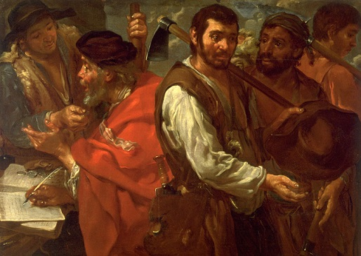 """Labourers in the Vineyard"" by Bernard Keil"