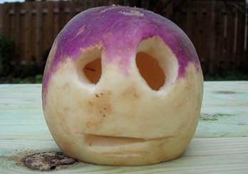 Turnip Jack O'Lantern