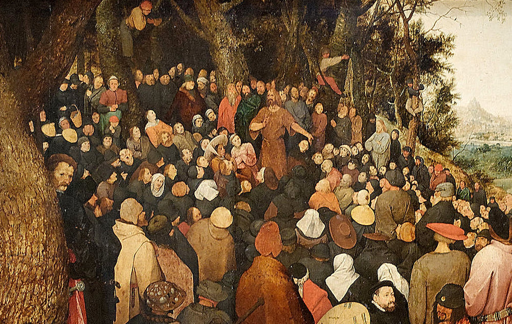 The Sermon of John the Baptist by Pieter Bruegel the Elder 1566