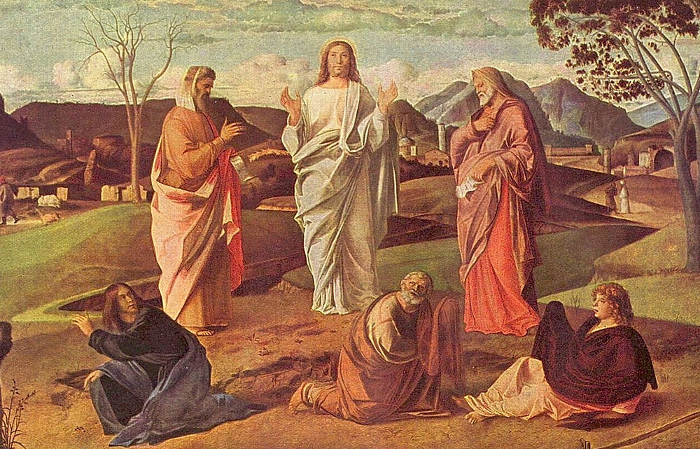 """The Transfiguration"" by Giovanni Bellini"