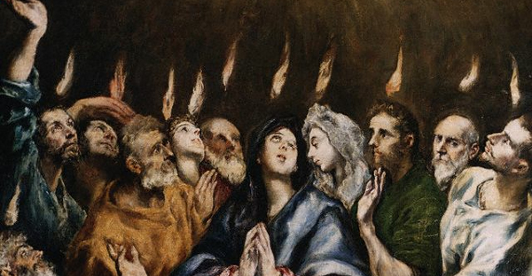 Descent of the Holy Spirit by El Greco