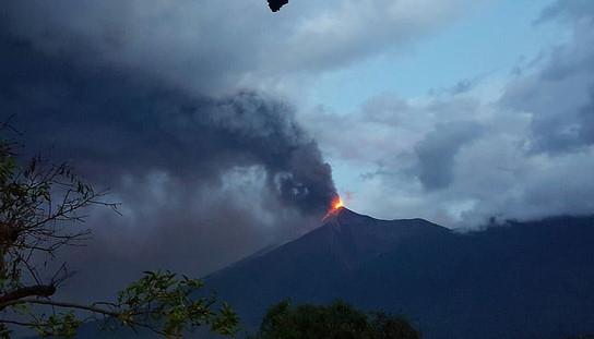 Valcán de Fuego erupts on June 3