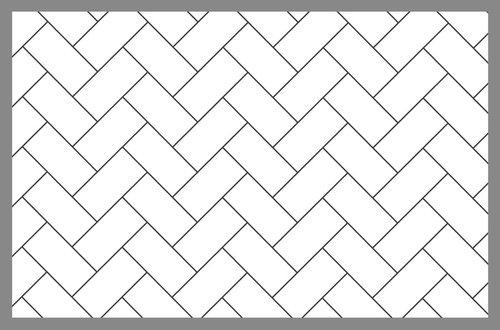 Watercolor Tutorial Herringbone Pattern Rae Lily - 45 degree herringbone tile pattern
