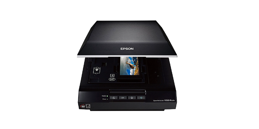 Epson V550 Scanner - This is the scanner I use to scan in my artwork