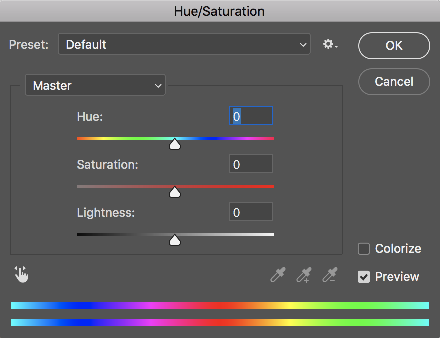 Digitize-Saturation Dialogue Box.png