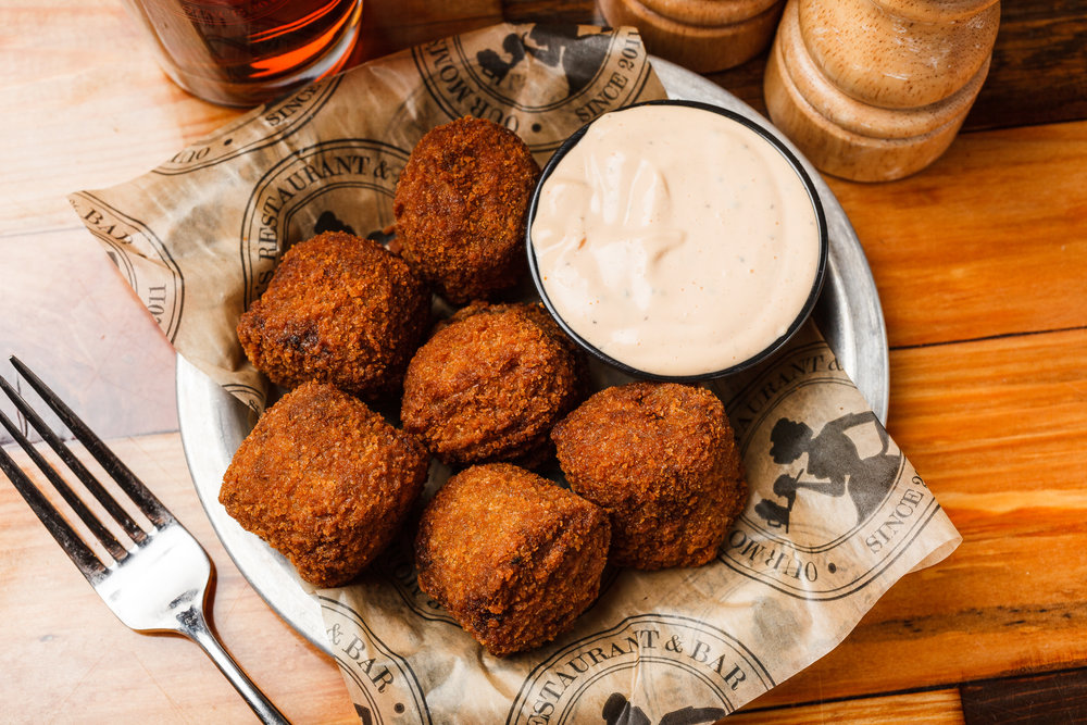 Our Mom's Boudin Balls
