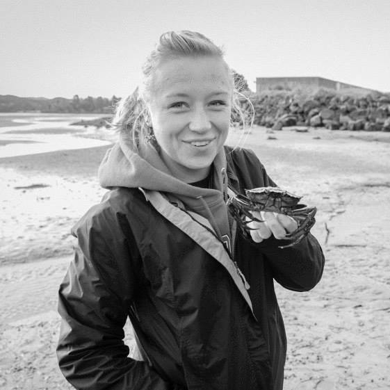 - Julia Bingham, Duke University Marine LabJulia studied Marine Biology as an undergraduate at Oregon State University, specializing in rocky intertidal trophic ecology. She spent several years conducting applied intertidal research, working with fishers and managers along the Oregon coastline to use biological data and stakeholder goals to develop sustainable strategies in an emerging gooseneck barnacle fishery. Through that work, Julia began studying the nexus of human social systems and coastal ecosystems. She is interested in understanding variations of social, cultural, and governance contexts in rural, fishery-dependent coastal communities.