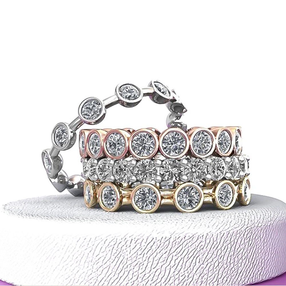 Eternal Love Bands - Beautiful and Stackable