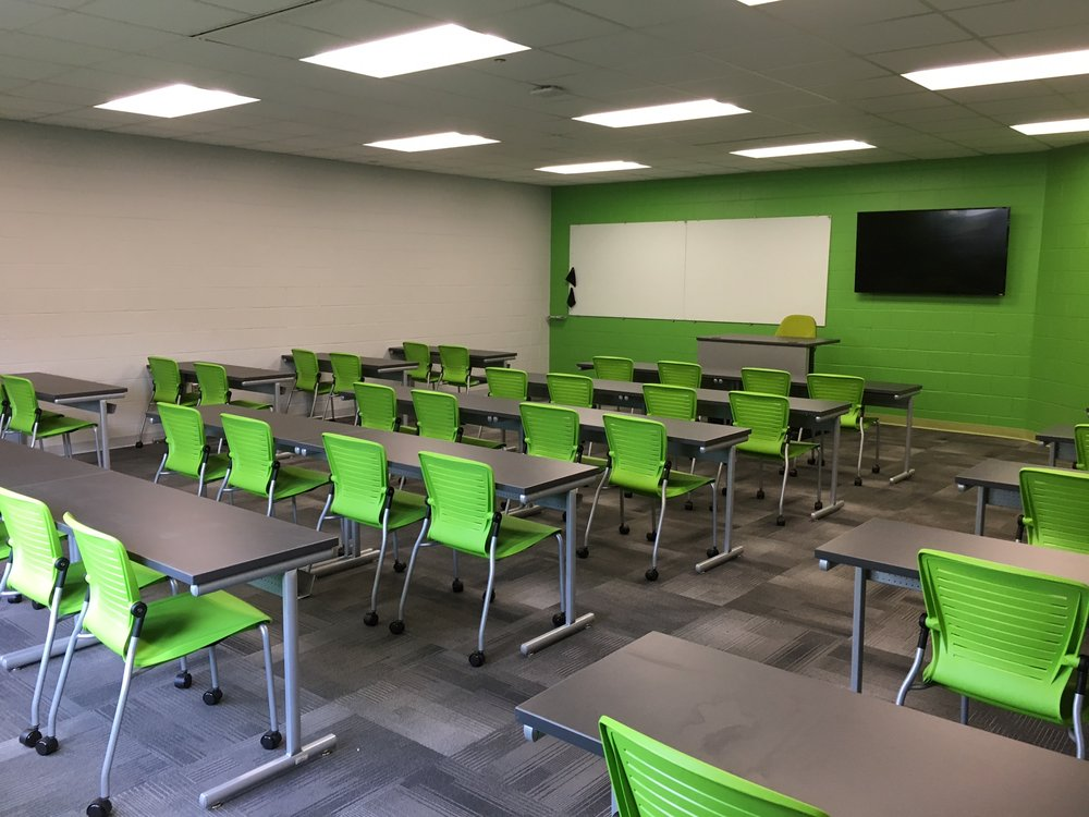 Jacksonville State University - Active Learning Table Install Pic 4.JPG