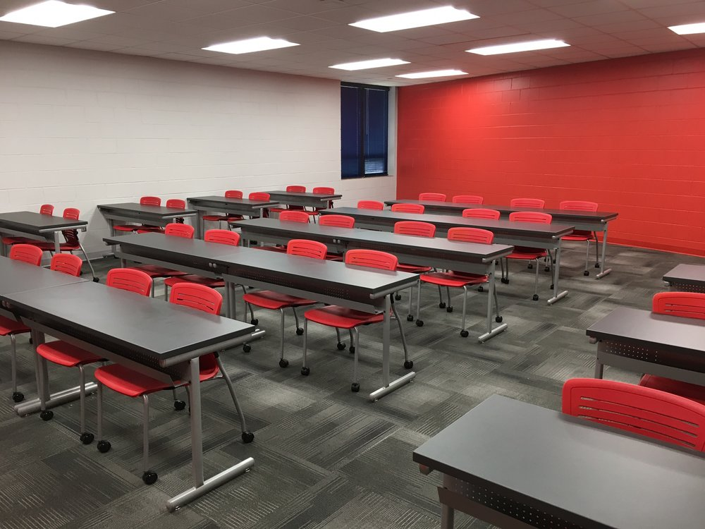 Jacksonville State University - Active Learning Table Install Pic 5.JPG