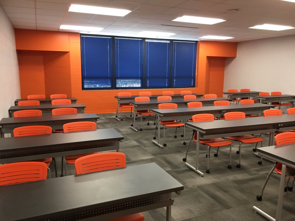 Jacksonville State University - Active Learning Table Install Pic 7.JPG