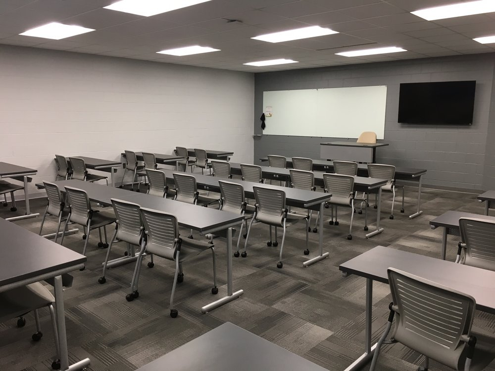 Jacksonville State University - Active Learning Table Install Pic 10.JPG