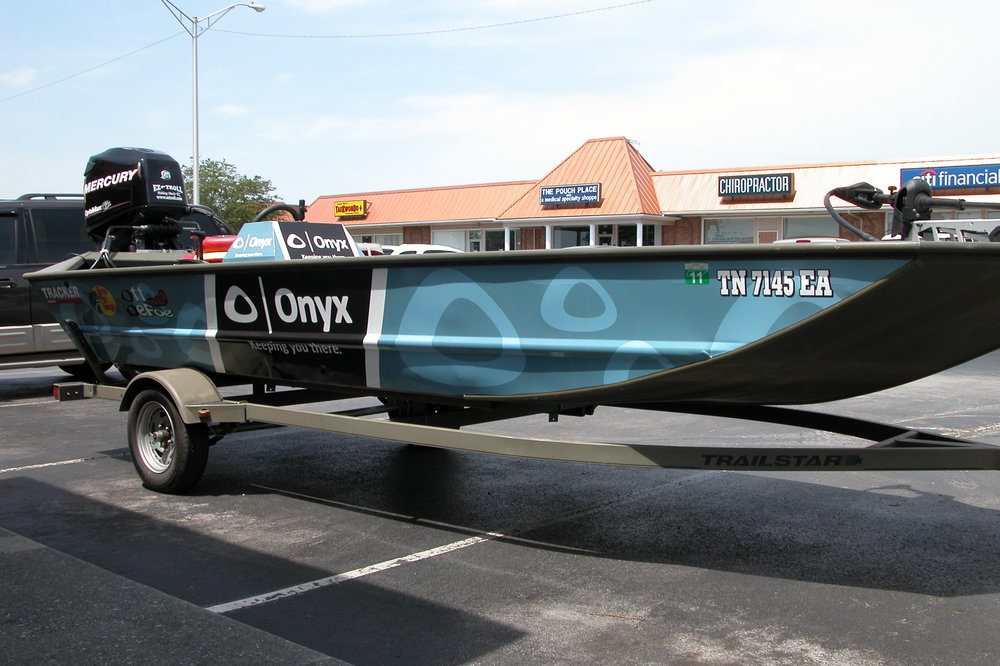 Onyx Boat Wrap