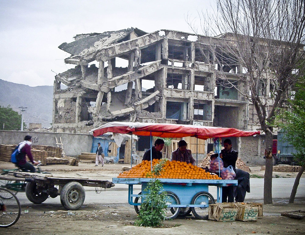 Oranges in Kabul