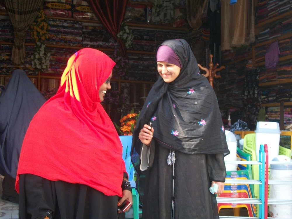Aisha and Deqo in Mogadishu