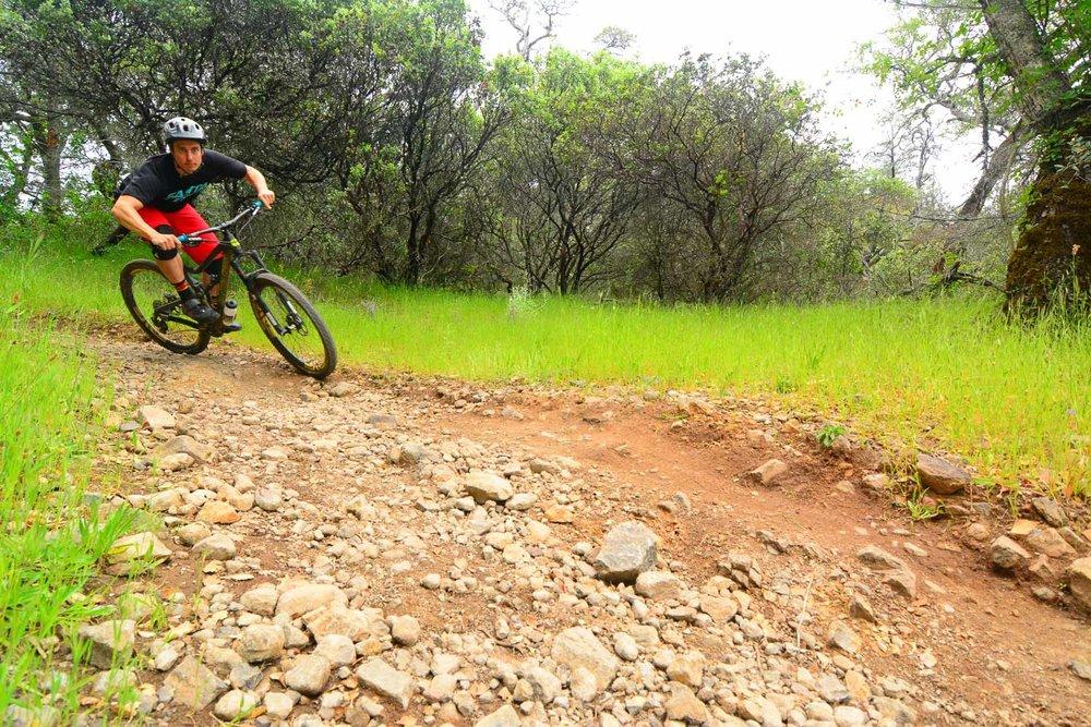 Sonoma County mountain bike riding