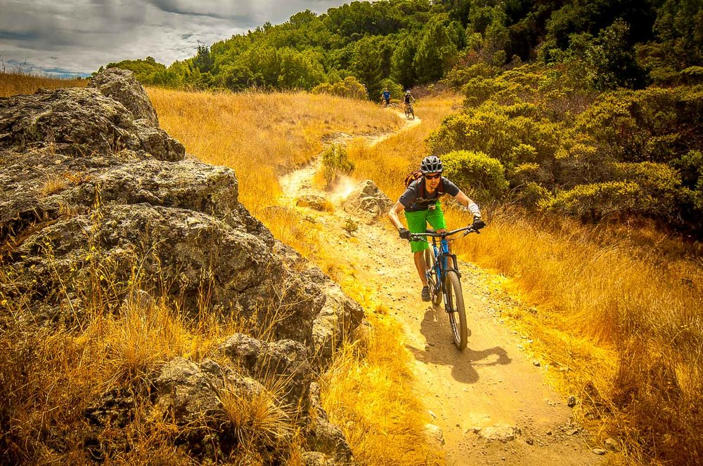 Hero Dirt guided tour Tamarancho Fairfax Marin mountain biking