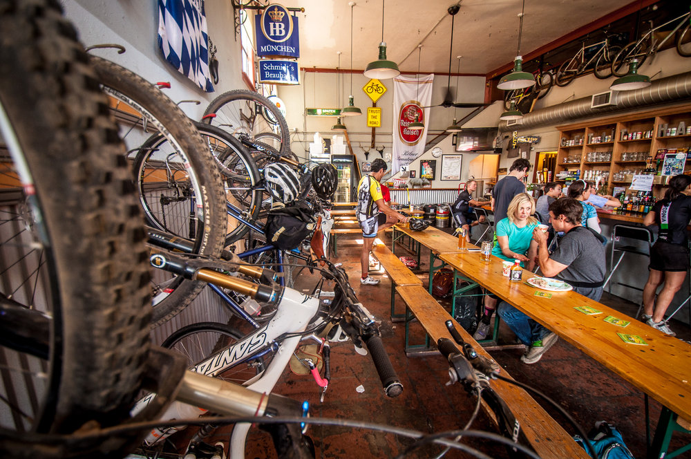 "Celebrate our adventure in a ""Top 10 Cycling Bar in the World"" - Outside Magazine"