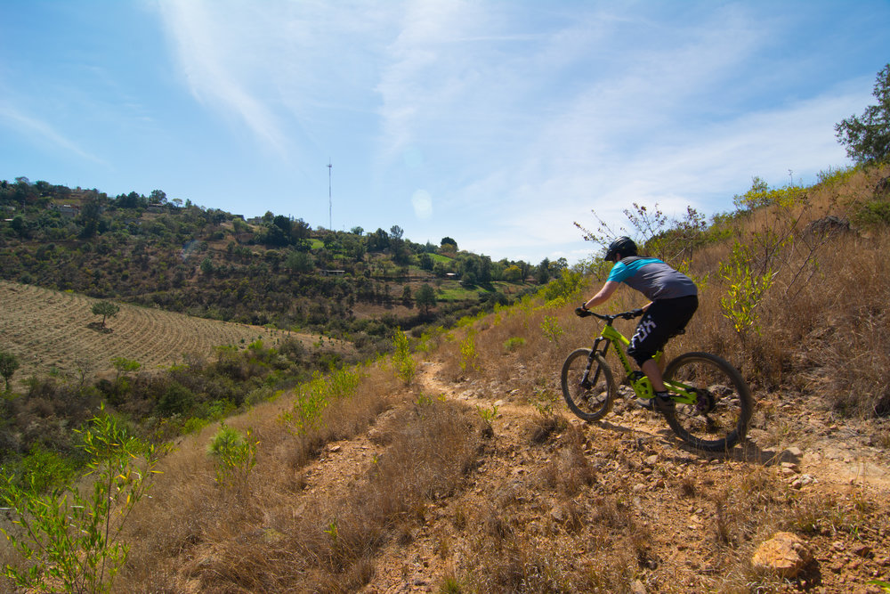 Etla, Mexico mountain bike enduro trails with shuttled rides