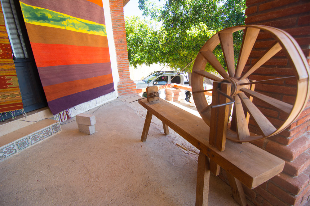 Oaxaca Artisanal rug and textile making