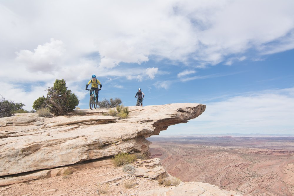 Moab, Utah mountain bike tour Porcupine Rim, Whole Enchilada trail