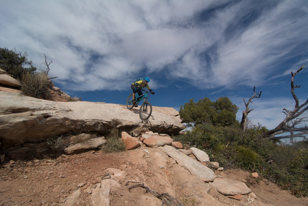 Mag 7 Trails mountain Bike tour Moab, Utah