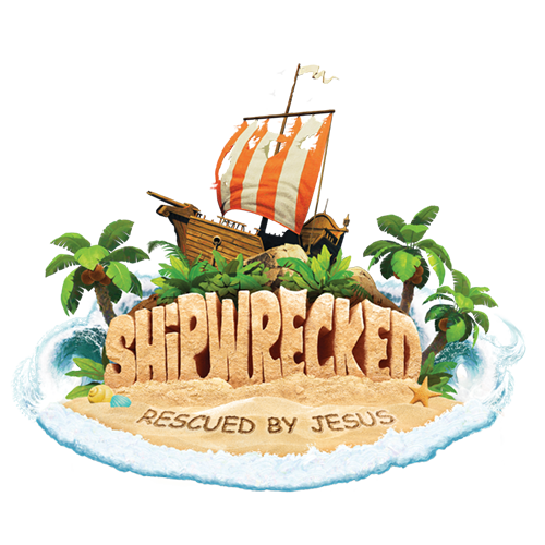 Each day at Shipwrecked, as kids participate in Bible lessons, crafts, music, snacks and games, they will discover that Jesus rescues them through life's storms. -