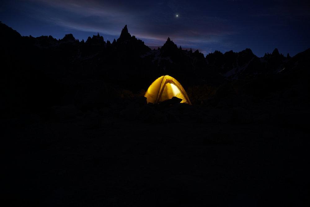 Camping at Frey.