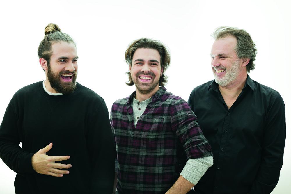 Les auteurs Jay du Temple, Simon Lafrance et Patrick Sénécal