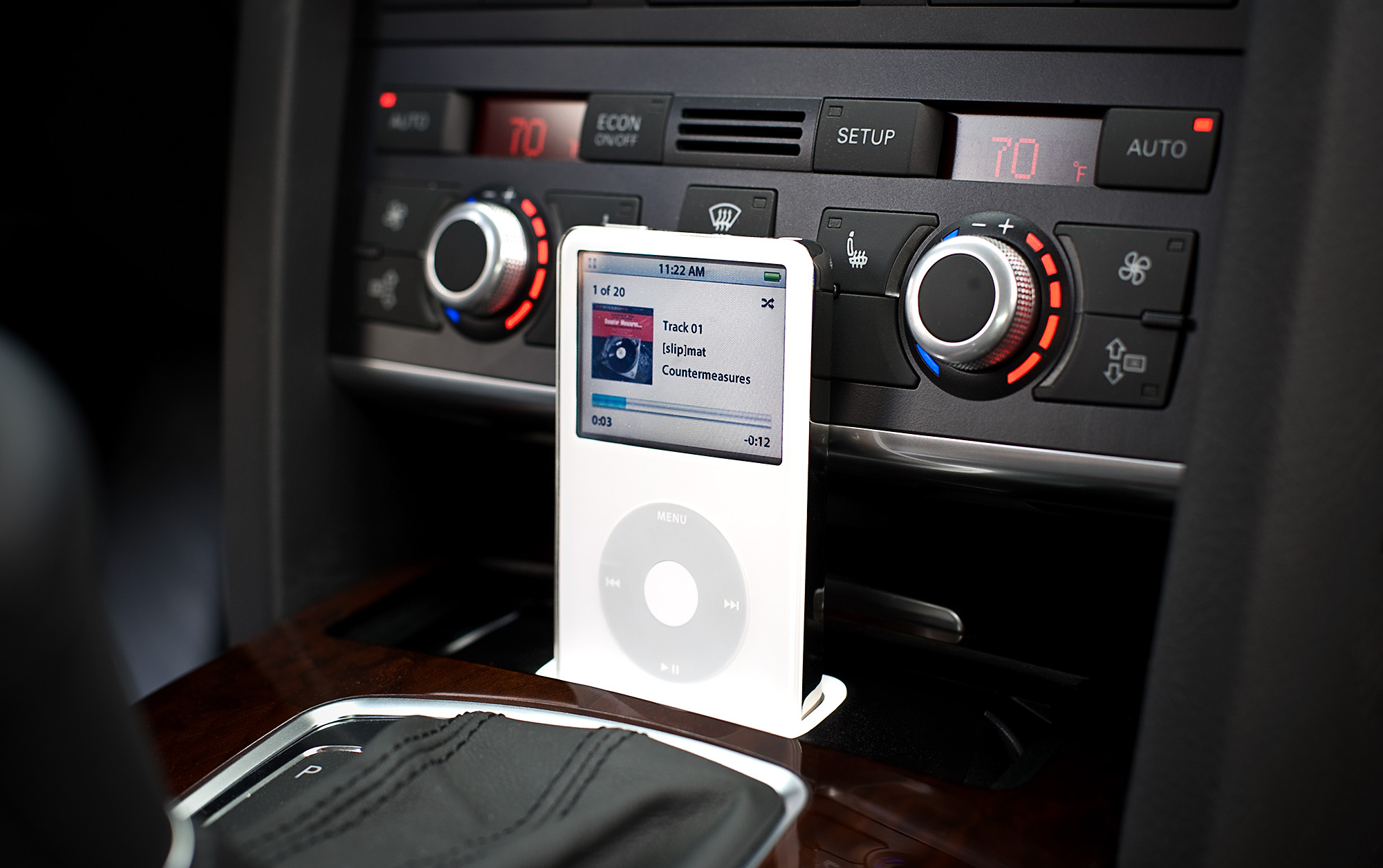 Image result for ipod in car