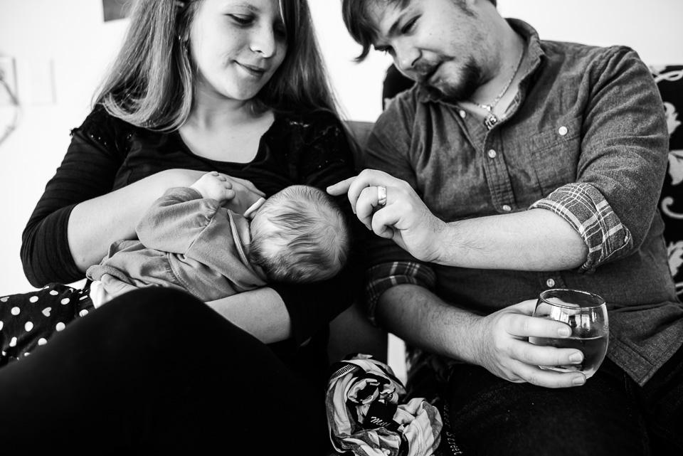 south florida lifestyle newborn photographer