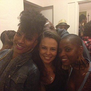 Rachel Oneika Phillips & AiMee Graham Wodobode - Natalie with FELA! cast members Rachel Oneika Phillips and Aimee Graham Wodobode.
