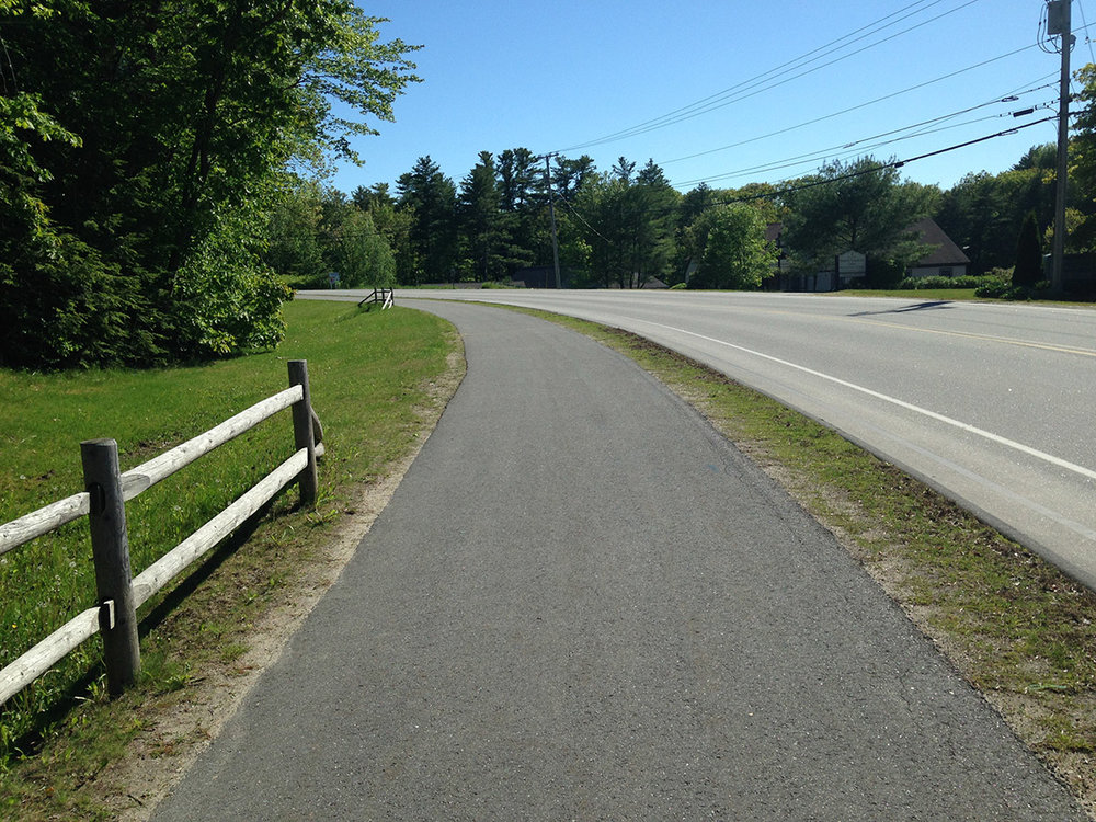 Congress Avenue Shared Use Path - Bath, Maine  (While at Wright-Pierce)