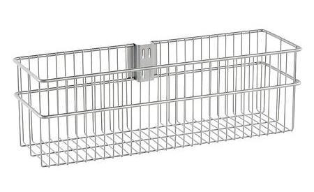 elfa utility large basket platinum