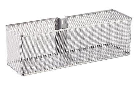 elfa utility large mesh basket platinum