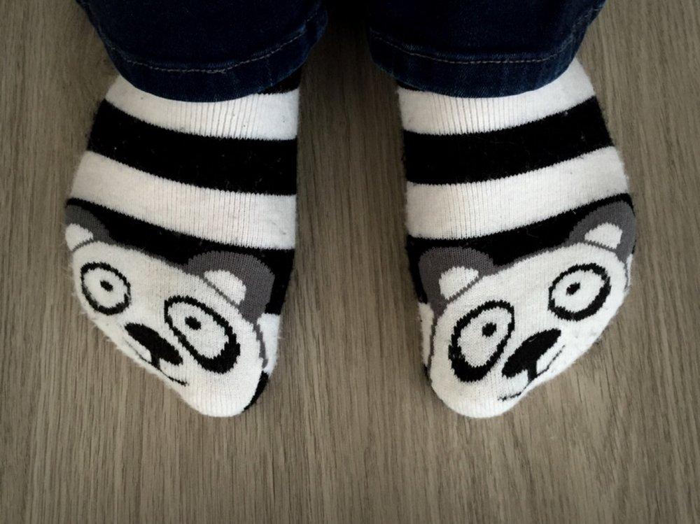 Panda Bell Socks