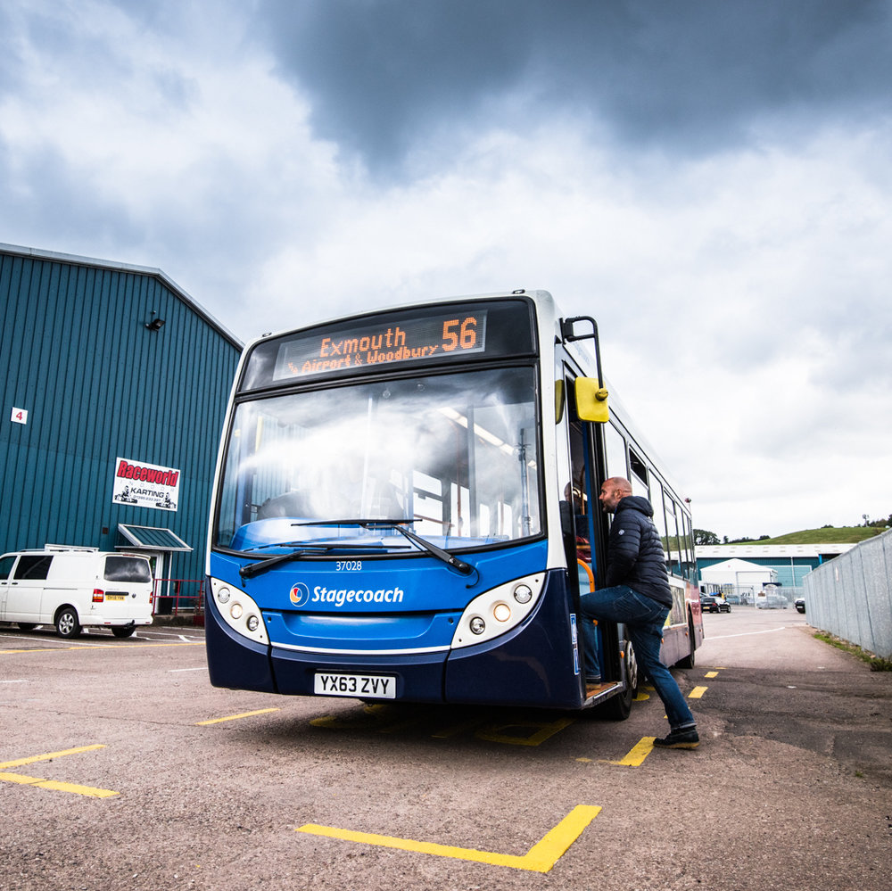 PUBLIC TRANSPORT - One of the easiest ways to help improve eco credentials is to facilitate 'green travel' for Park occupants; happily, Greendale Business Park is ideally located for an easy bus ride or cycle-commute to work.