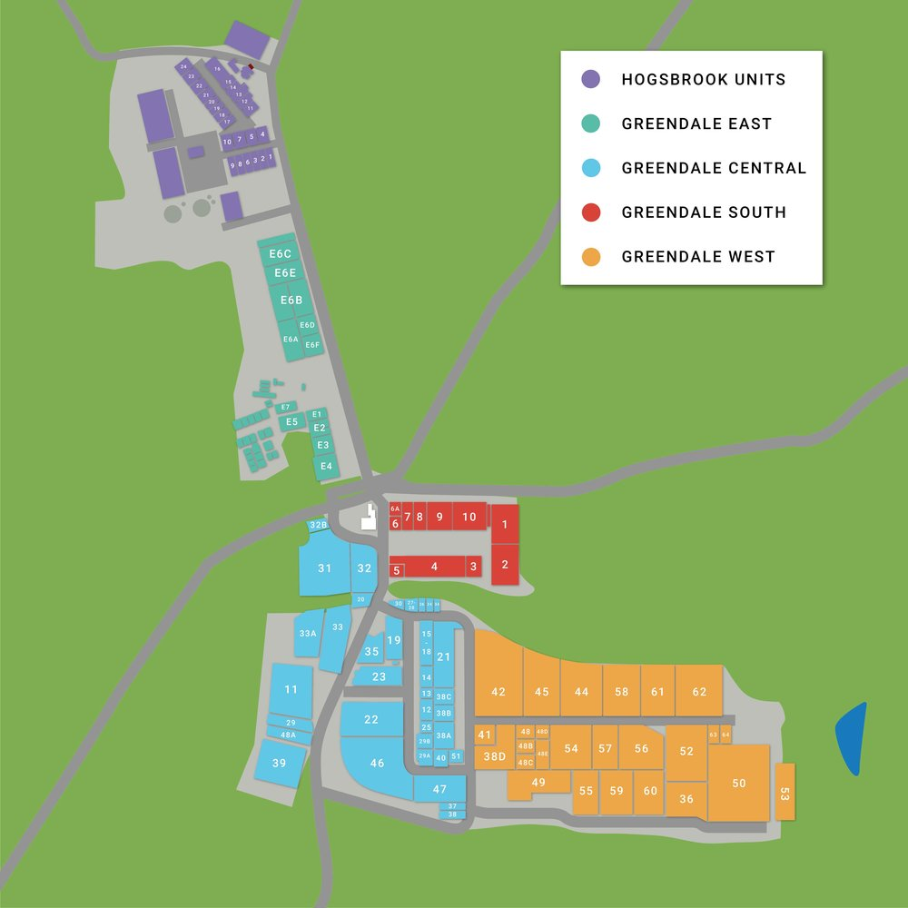 Greendale Business Park Site Map - Zones.jpg