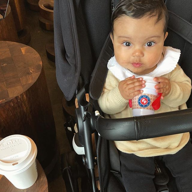 Saturday morning coffee with Gigi ❤️