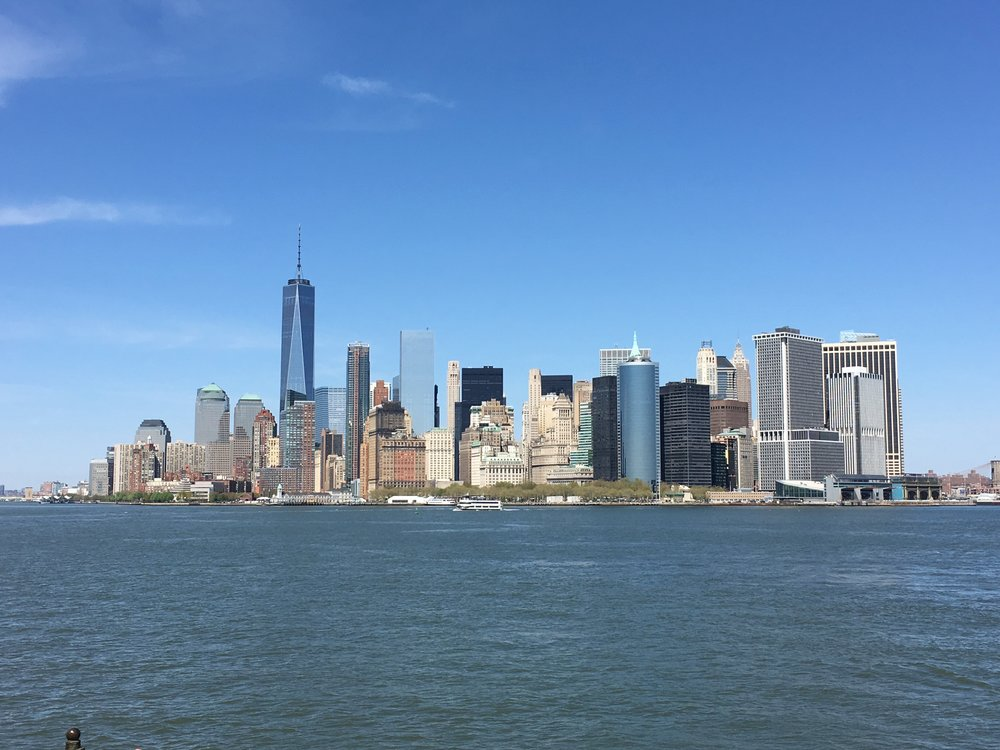 Downtown NYC skyline