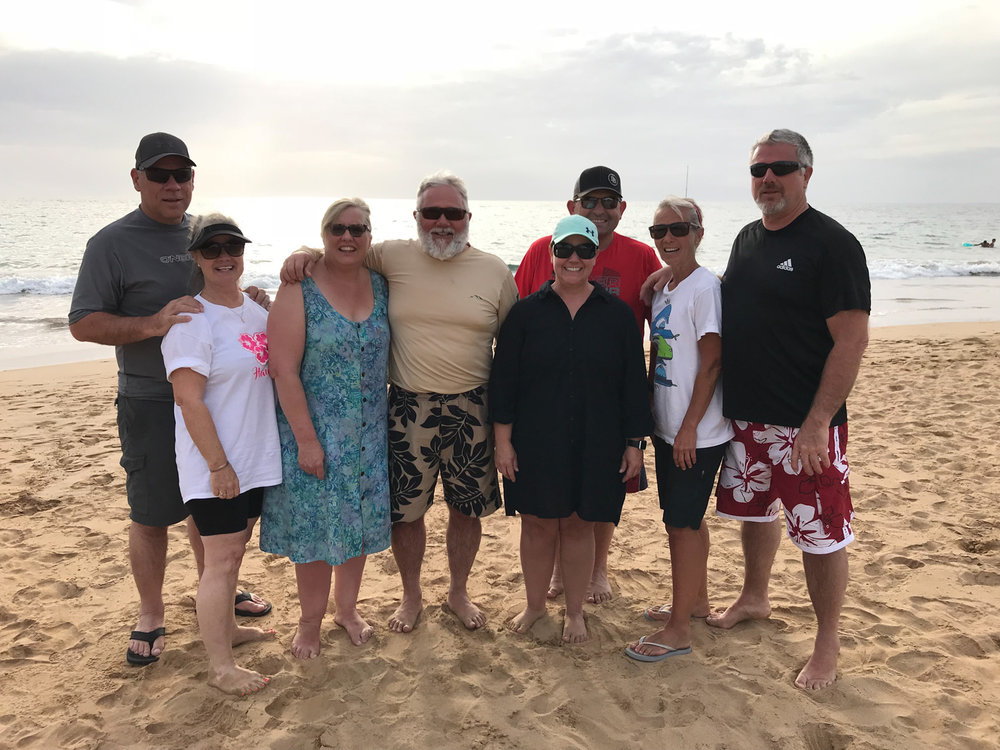 The Cousins: Rob, Kathy, Linda, Curtis, me, Leroy, Trudy and Dale
