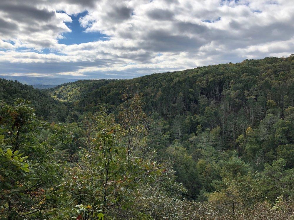 Delaware Gap Valley (from Bushkill Falls)