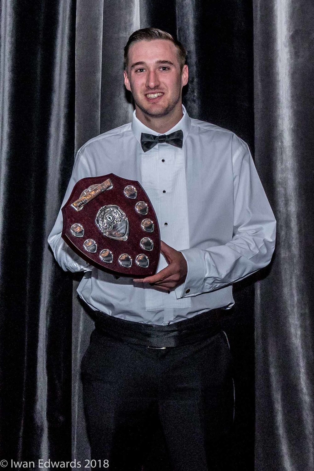 Saxons' Young Player of the Year   Mike Jackaman