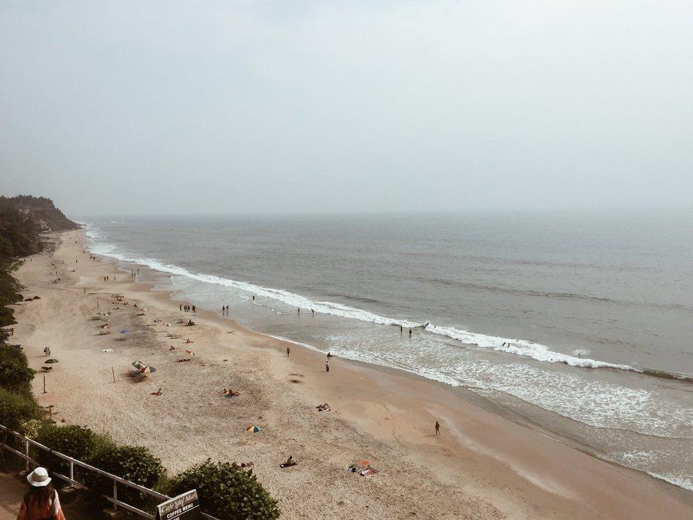 Varkala Beach, Kerala, South India