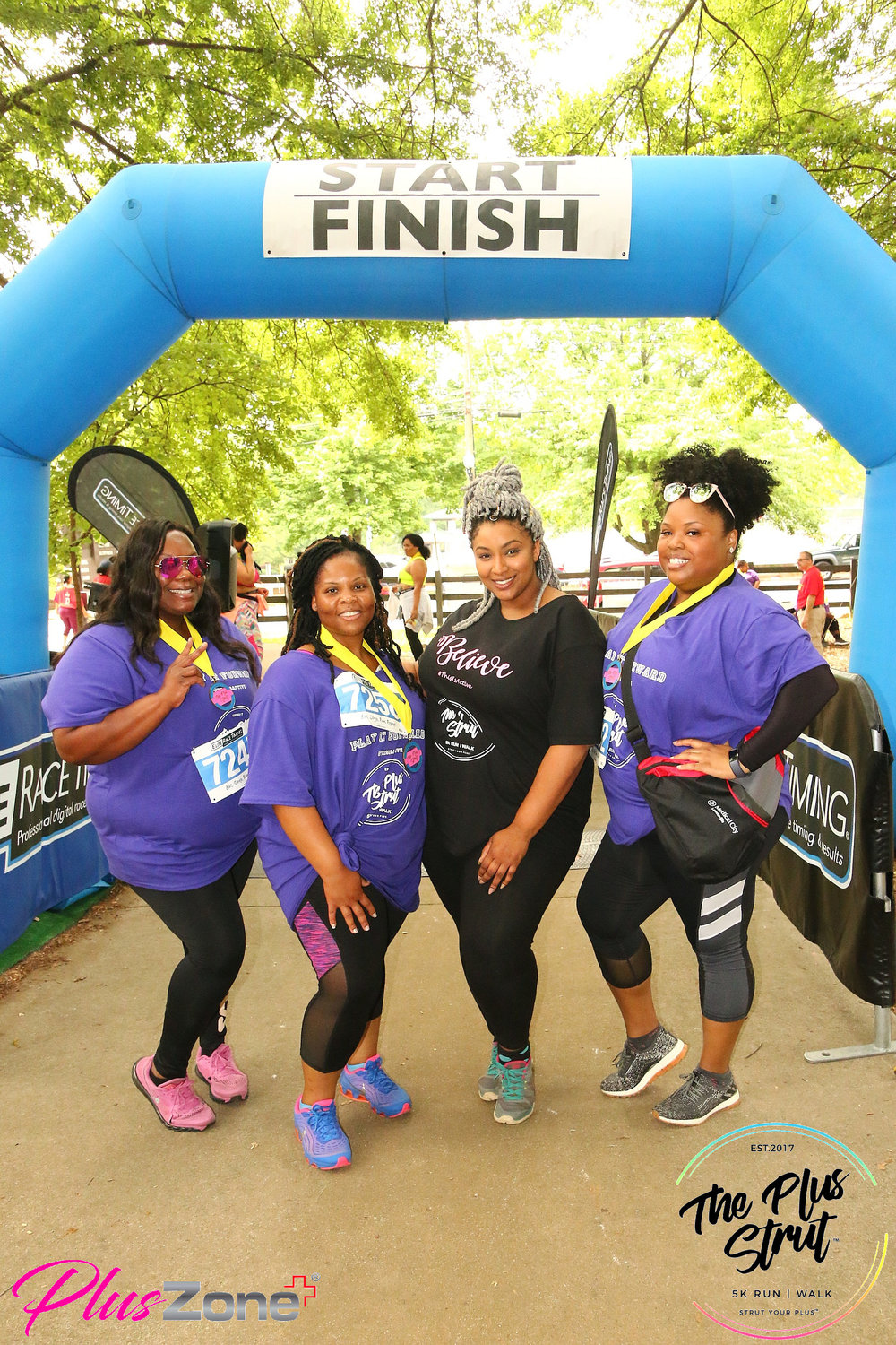 """Influencer Ambassador Program - Calling all bloggers and plus community influencers, you may want to invite your """"GIRL TRIBE"""" to join us for the 5K. You can participate in our Influencer Ambassador Program (I.A.P). Anyone you invite or registers from the code that you promote on your social media pages, about the 5K, can use your dedicated discount code link, to register for the event. The influencer who has the most participants registered under their code, will receive a very special acknowledgement / gift during the 5K event. Exciting right?! Accepted influencers must be willing to promote the 5K on social media platforms and websites and use The Plus Strut 5K™'s curated marketing material to promote the event."""